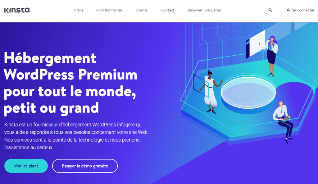 Hébergement WordPress Kinsta